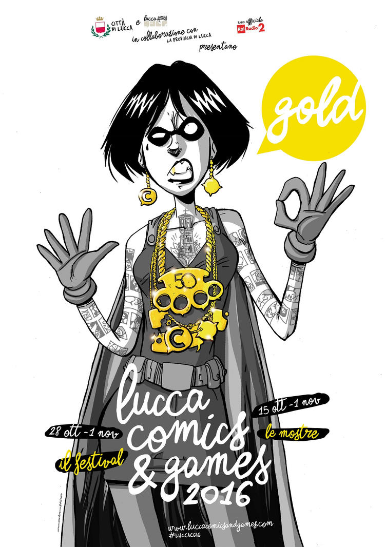 Lucca Comics 2016. by SofiaDrago