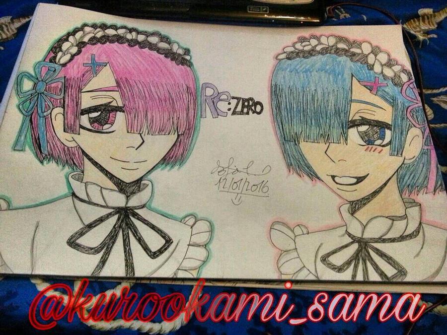 RE:ZERO Ram and Rem. by SofiaDrago