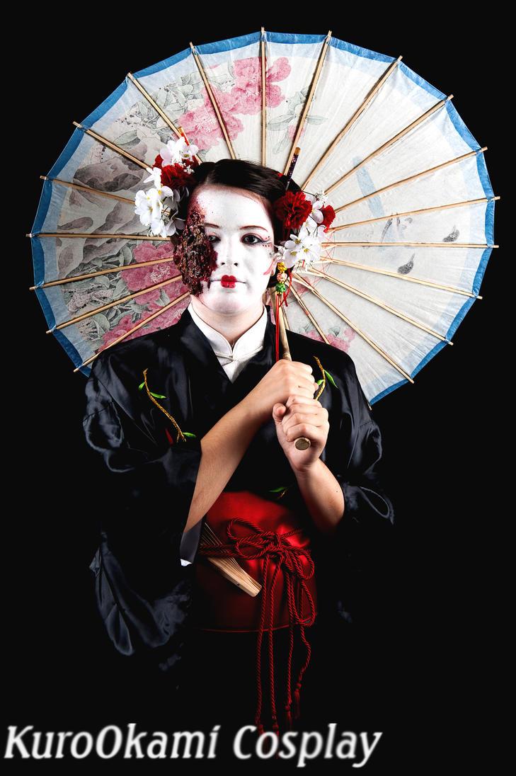 Half Burned Geisha. by SofiaDrago