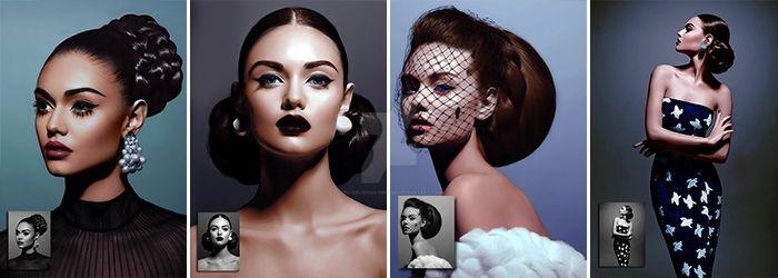 4 Nicole Colorizations by BRX-Oblivious-Dreams