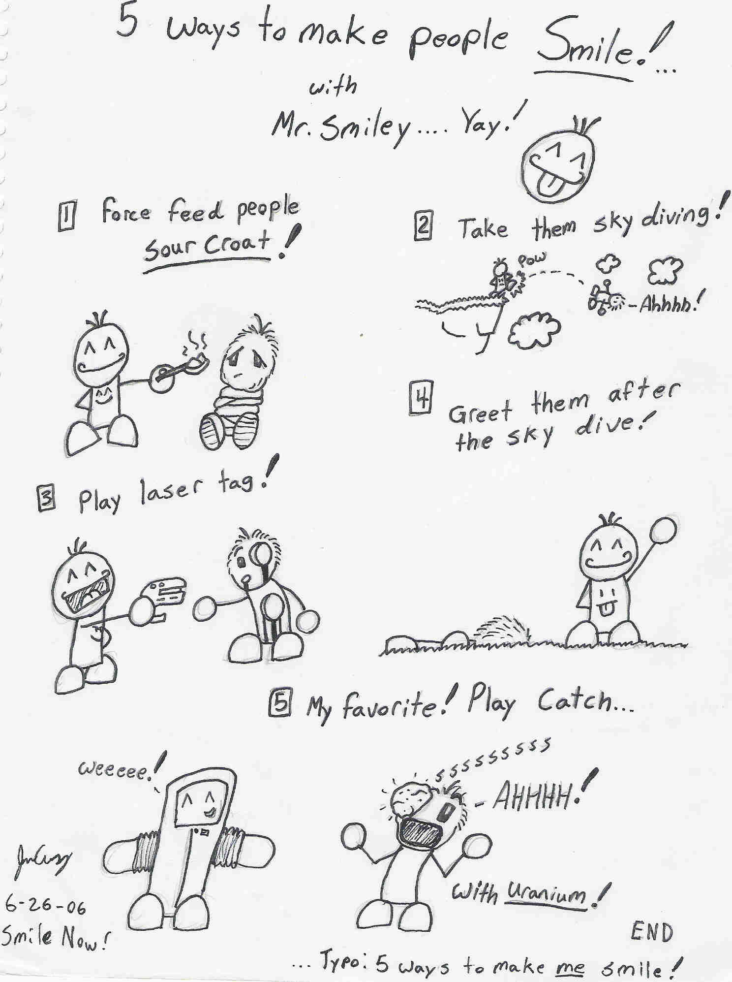 5 ways to make someone smile by jack bazurk on deviantart 5 ways to make someone smile by jack bazurk kristyandbryce Image collections