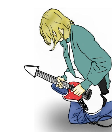 Kurt Cobain by Ora