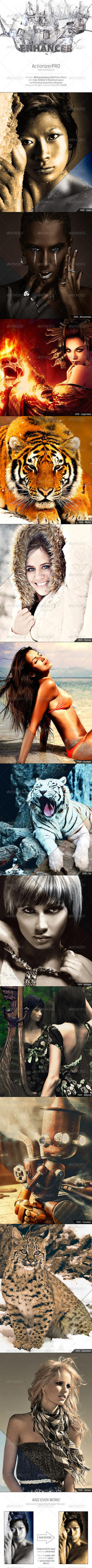 ActionizerPRO - HDR Enhancer Pack 1.0 by Crealextion