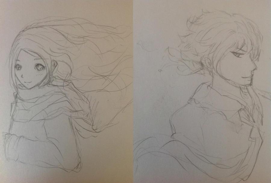 Boy and Girl by lulla6y
