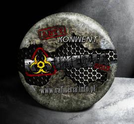 Rafineria 2013 badge by utarefsonsan