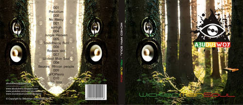 Wicked Man Soul CD cover by utarefsonsan