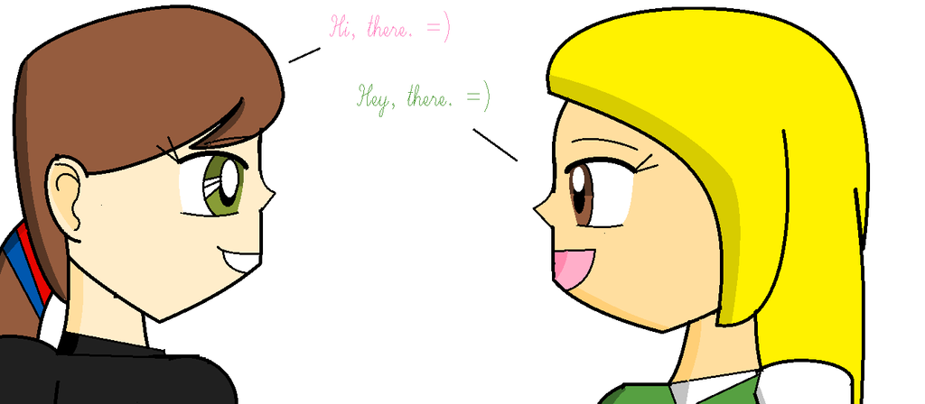 GA - Friendly Conversation with Cubie by Britishgirl2012