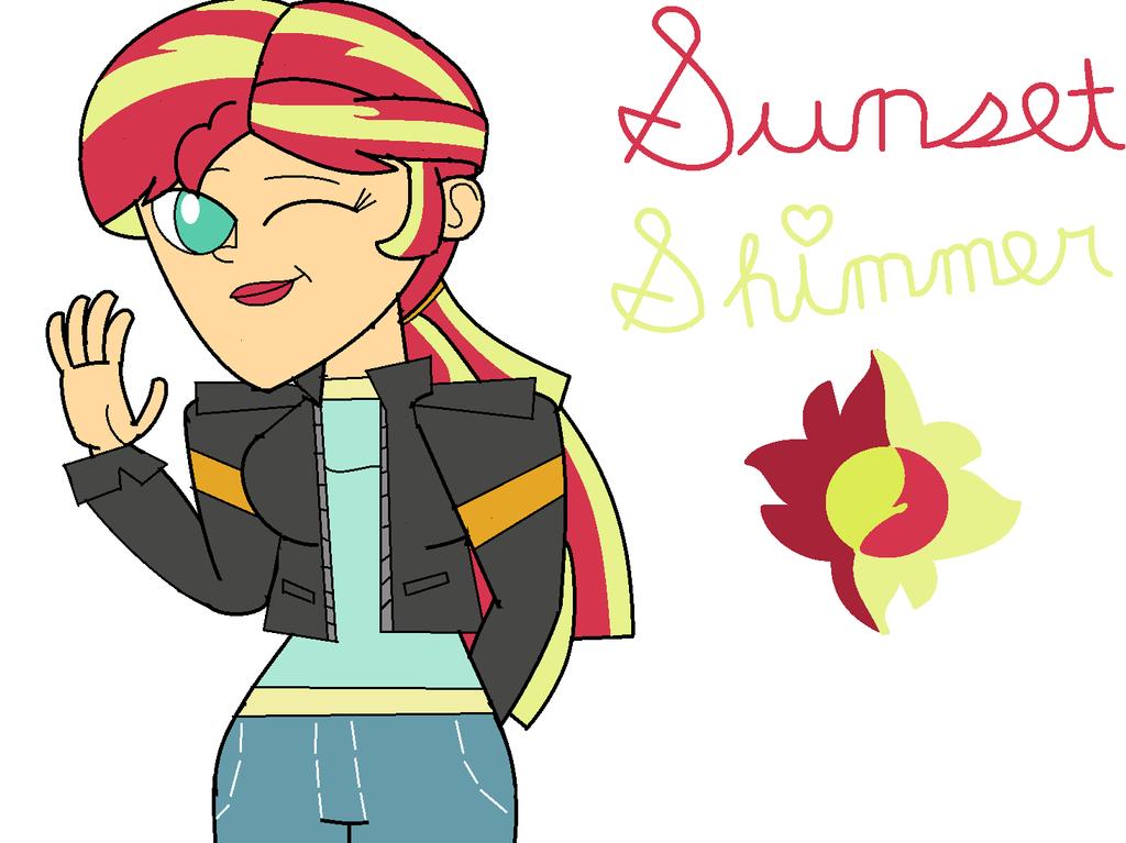 Dan Vs.-styled Sunset Shimmer by Britishgirl2012