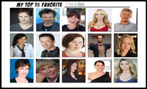 My Top 15 Favorite Voice Actors