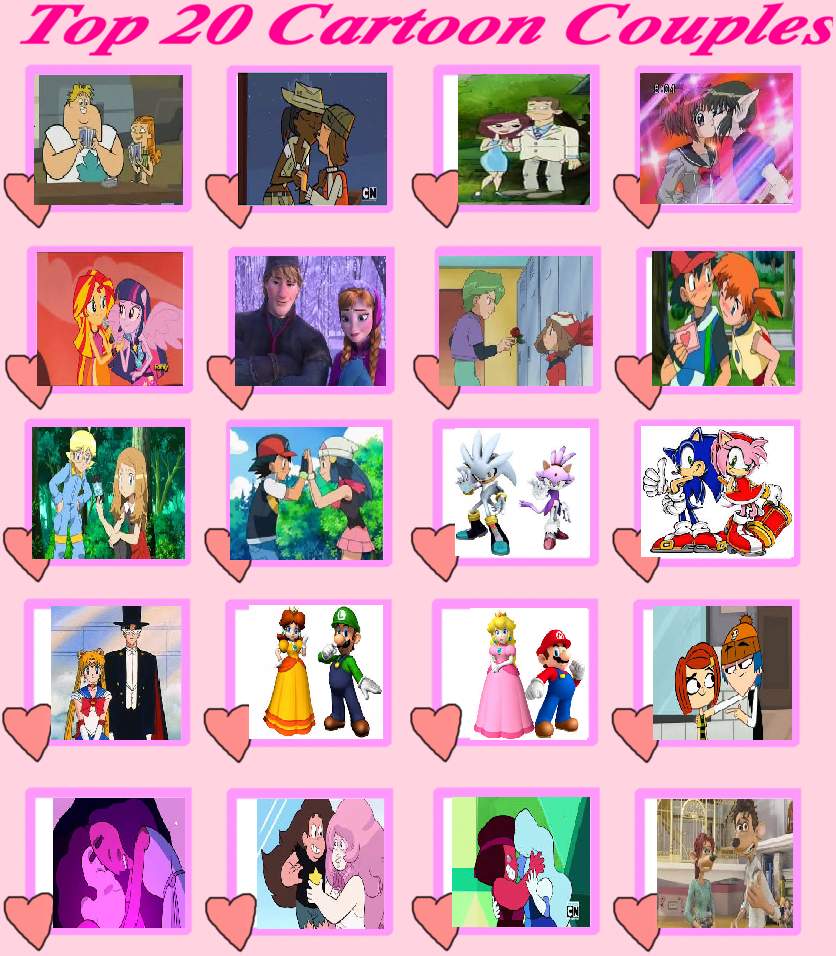My Top 20 Favorite Cartoon Couples by Britishgirl2012 on ...