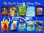My Top 10 Favorite Disney Movies