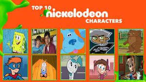 My Top 10 Favorite Nickelodeon Characters