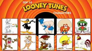 My Top 10 Favorite Looney Tunes Characters