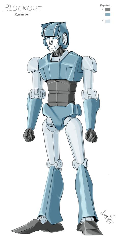 Blockout - Custom Concept Transformer (Commission)