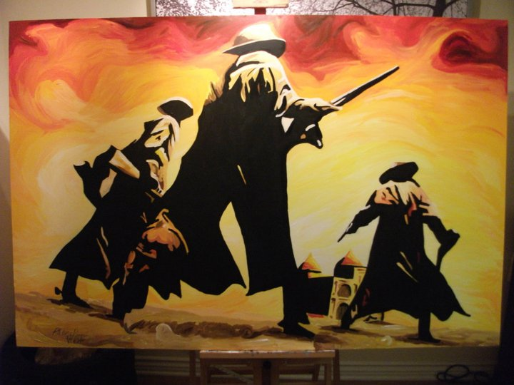 Once Upon a Time in the West by ArtWorkCustom on DeviantArt