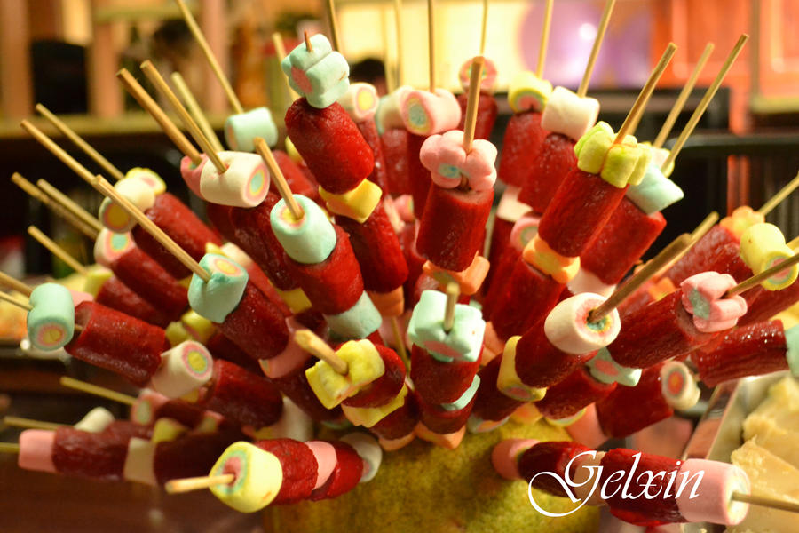 Marshmallow Hot Dog Stick
