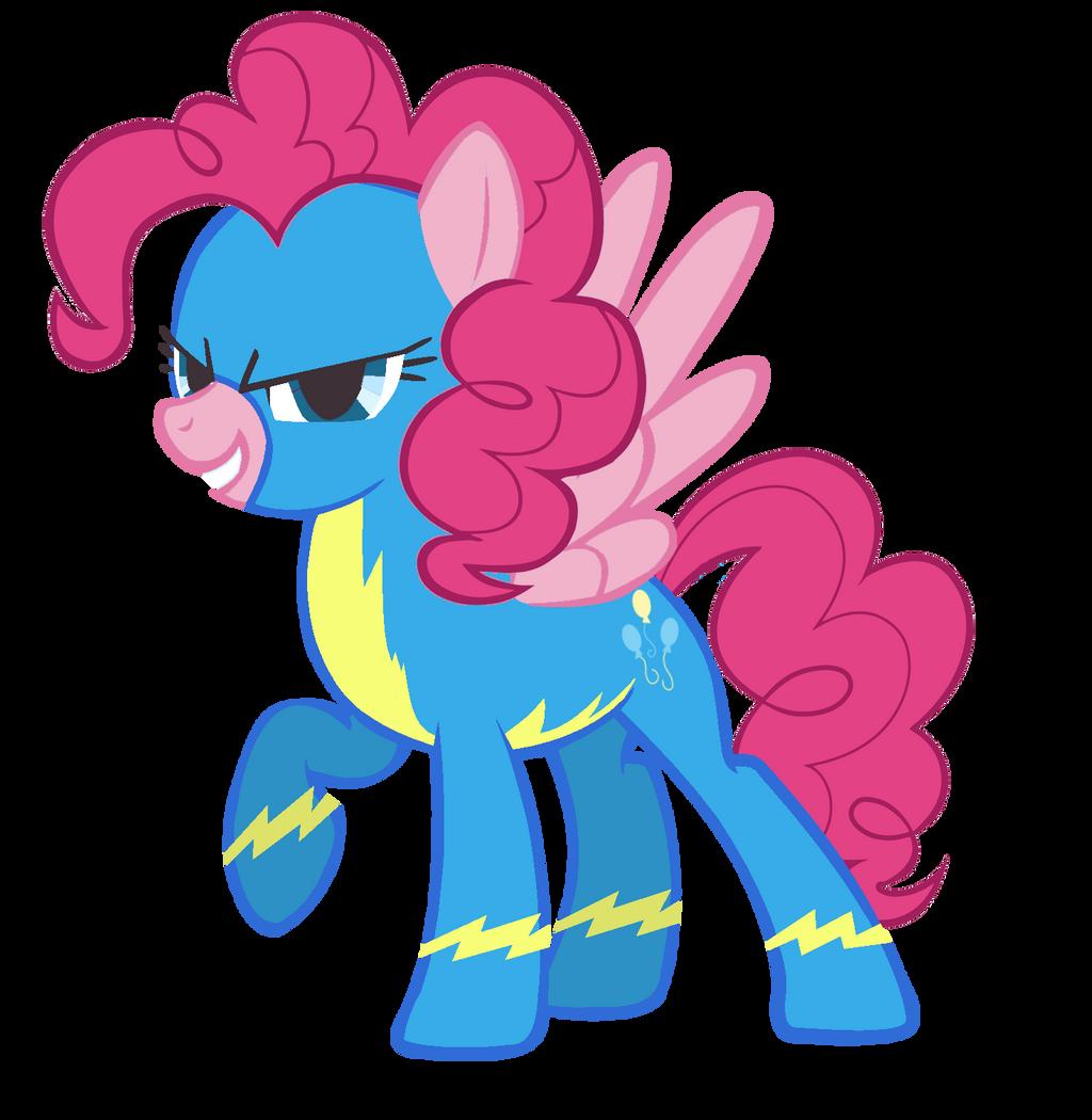 Pinkie Pie, the Wonderbolt by VirusAlert111