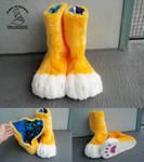 Anime Cat Feet