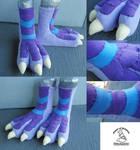 Fleece Dragon Feet