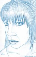 Wren Lucian: Blue Sketch by theassassinnox
