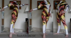 Freestyle Mungojerrie Unitard Modeled by theassassinnox