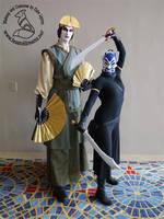 Avatar and Blue Spirit by theassassinnox