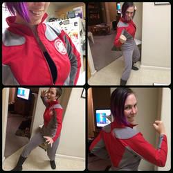 Galaxy Quest Gwen Inspired Uniform by theassassinnox