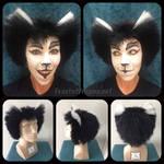 Mistoffelees wig- fake hair