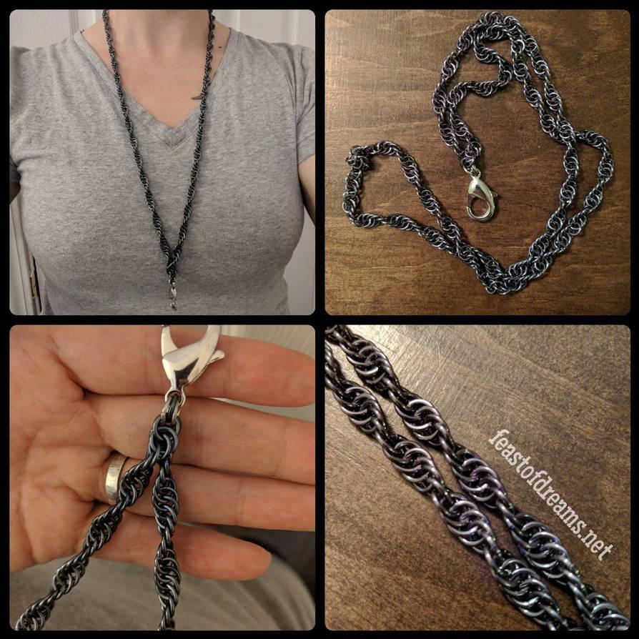 Chain Lanyard by theassassinnox