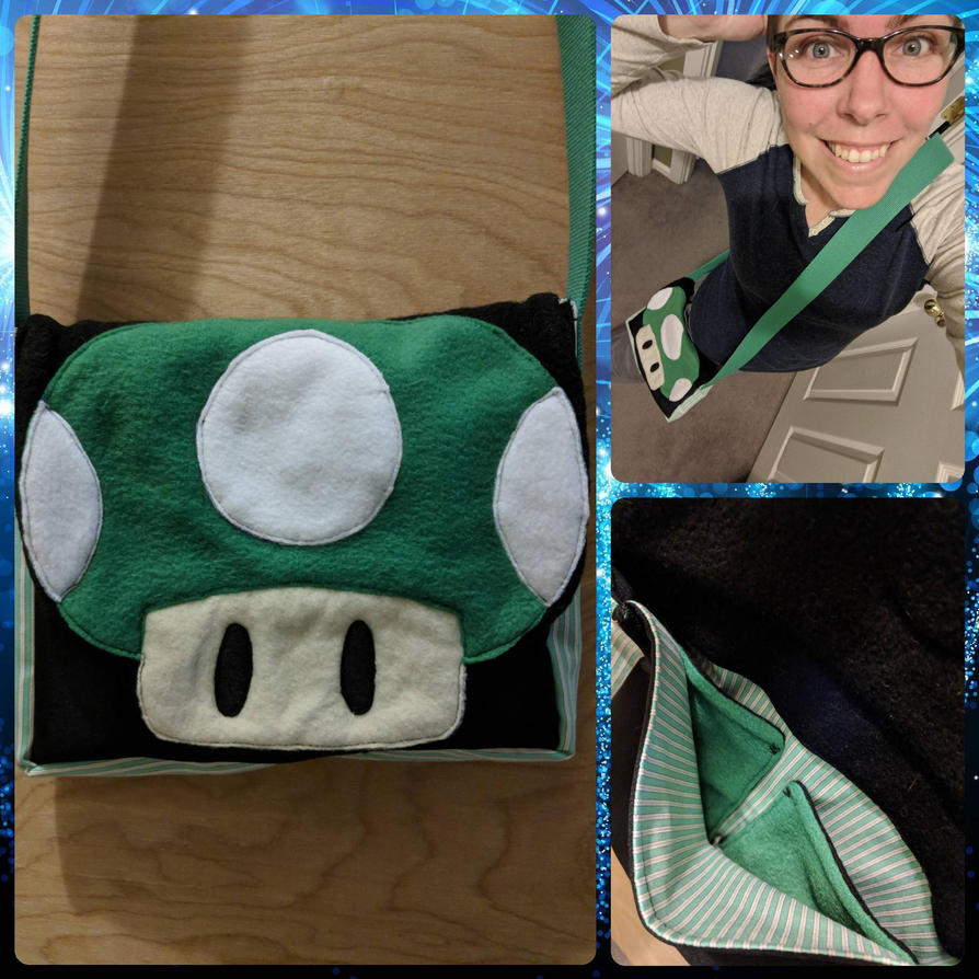 1UP Bag by theassassinnox