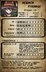 megumin roleplay card
