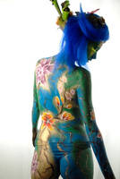 body painting by crazyworkshop