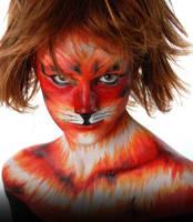 feline girl by crazyworkshop