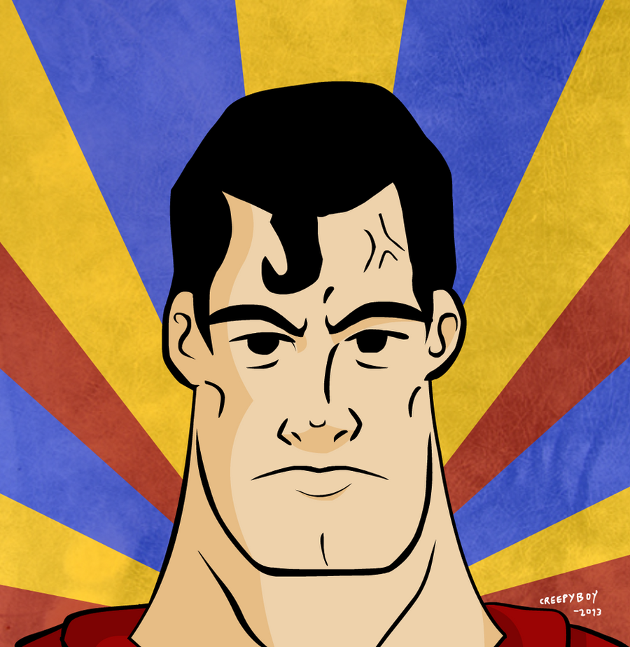 Superman: Man of Steel. by creepyboy