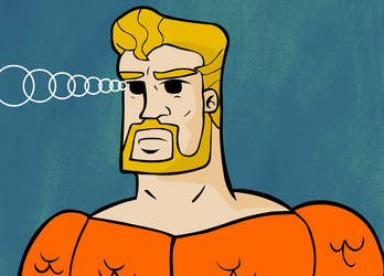 Aquaman: King Of Atlantis by creepyboy