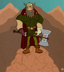 Viking Warrior by creepyboy