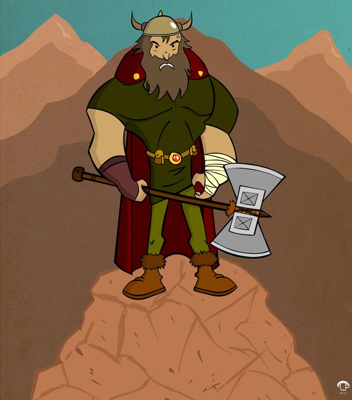Viking Warrior by creepyboy