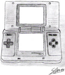 Nintendo DS by SpeedytheHedgehog