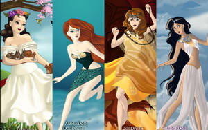 Disney Princess by mayastrongheart