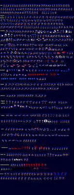 Sonic.EXE Sprite Sheet