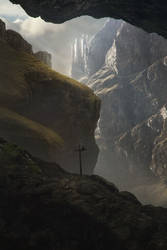 The old Castle by Jessica-Rossier