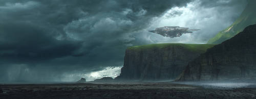 Back on earth by Jessica-Rossier