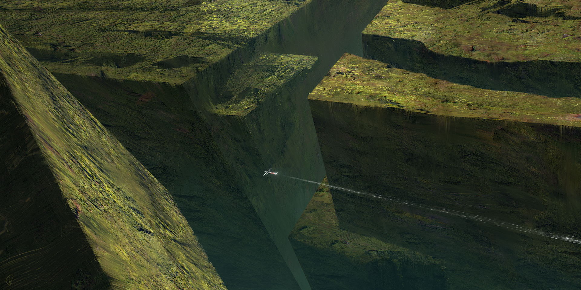 The Maze by Jessica-Rossier