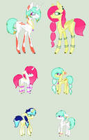 OC Breed Adopts 11 (OTA Open ^^) by Adopts-All-Day