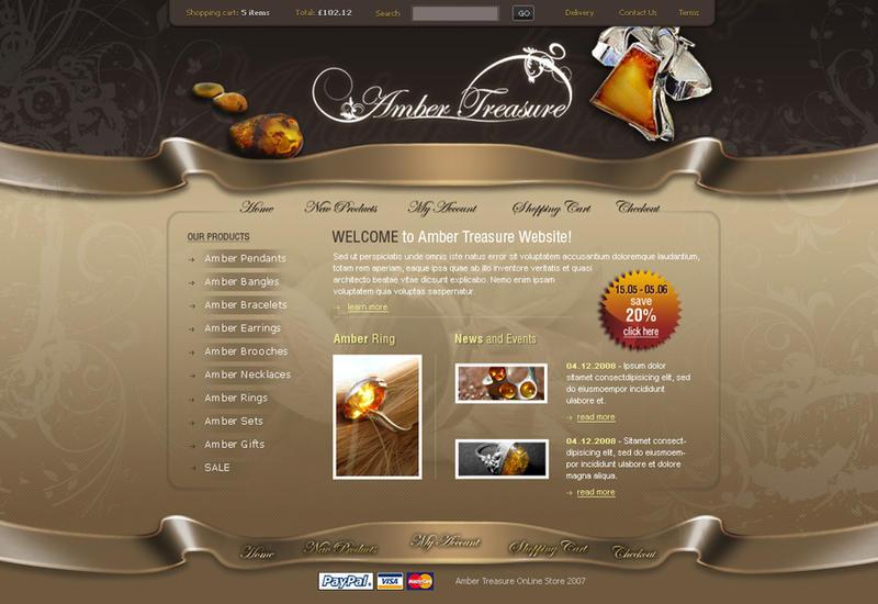 Amber Jewellery Shop Layout by wiz24