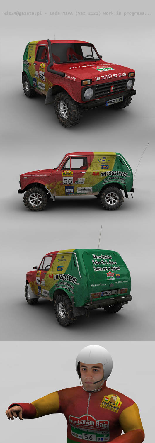 Lada Niva Africa Rally by wiz24