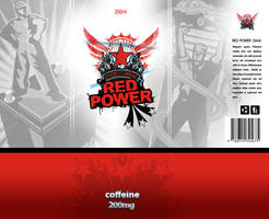 Red Power Energy Drink by wiz24