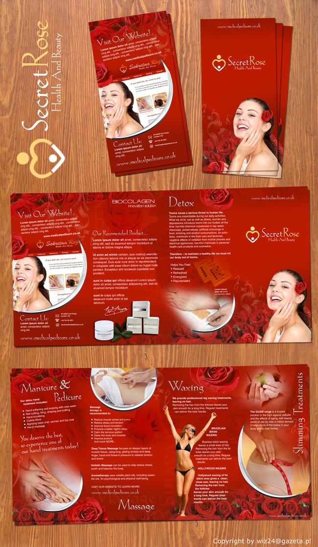 Beauty salon brochure design by wiz24