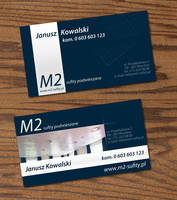 M2 business card by wiz24