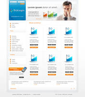 Joomla 1.5 layout by wiz24